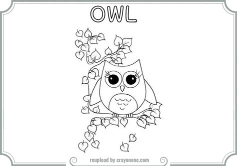 owl coloring pages to print out az coloring pages