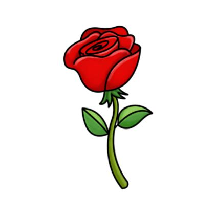 cartoon rose wallpaper red rose cartoon cliparts co