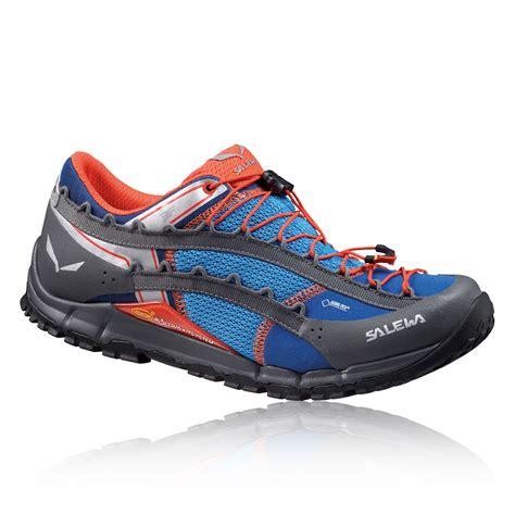 salewa speed ascent tex mens blue waterproof