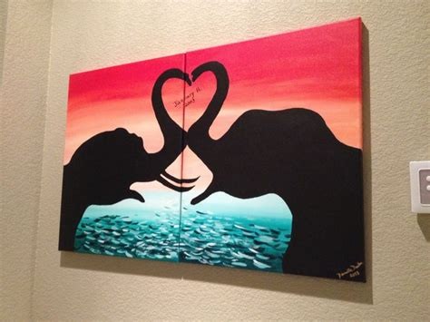 craft projects for couples 34 best images about canvas ideas for couples on
