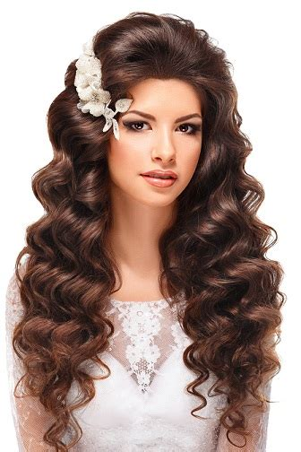 Curly Hairstyles For Wedding by Top 8 Wedding Hairstyles For Curly Hair Styles At