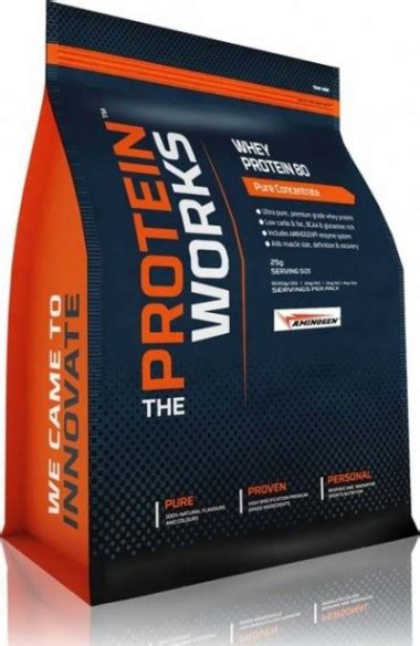 Daftar Whey Protein 2015 the protein works whey protein 80 review plus