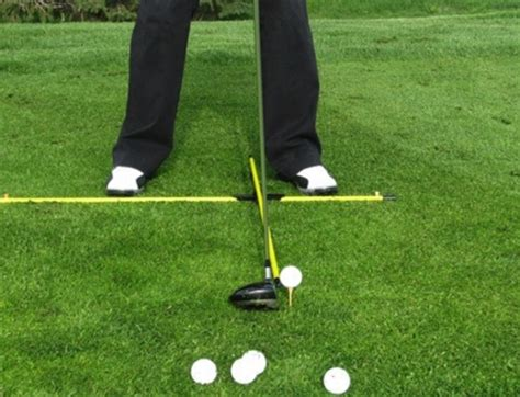 practice swings in golf practice t system by michael breed from eyeline golf