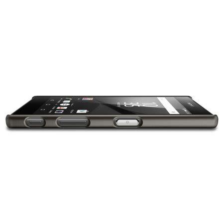 Spigen Slim Armor Sony Experia Z5 Premium spigen thin fit sony xperia z5 shell smooth black