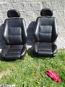 armslist for sale black leather seats
