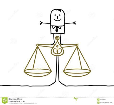 imagenes de justicia social para colorear hombre y balance justicia ilustraci 243 n del vector imagen