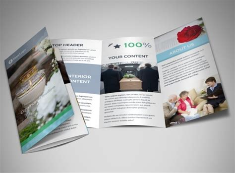 memorial brochure templates sample templates