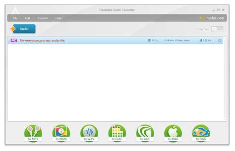 audio format test files convert 3ga to mp3