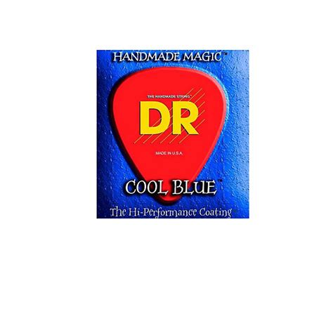 Dr Pomade Cool Blue dr strings cool blue coated electric strings lite reverb