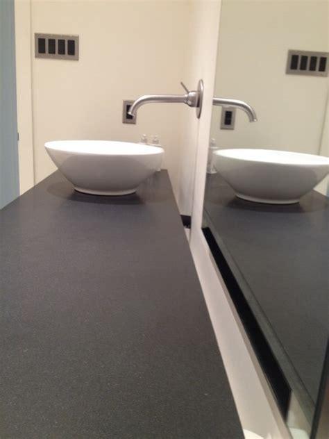 Floating Countertop by Floating Countertop Bathroom Dallas By Maconstruction