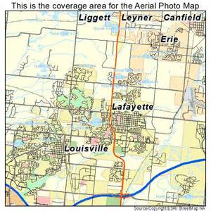 lafayette colorado map aerial photography map of lafayette co colorado