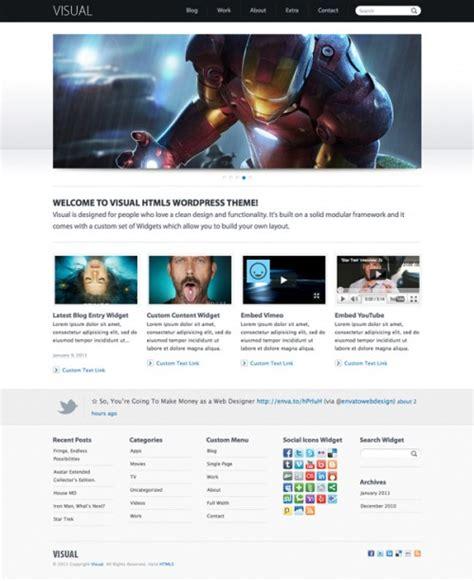 wordpress themes in html5 top premium html5 wordpress themes