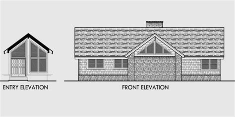 house plans with portico house plans with daylight basement drive through portico
