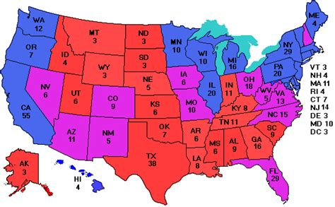 us map states electoral votes electoral vote for smartphones and pdas
