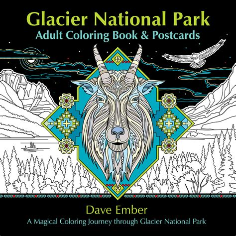 coloring books for adults national bookstore new glacier national park coloring book farcountry