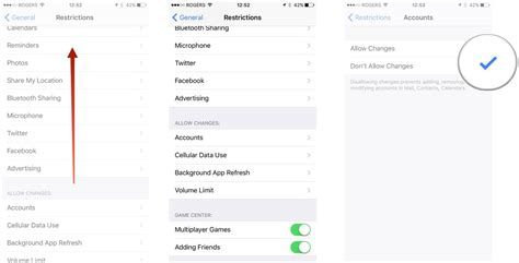iphone restrictions how to restrict account settings and volume on iphone and imore