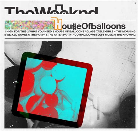 the weeknd house of balloons album 17 best ideas about the weeknd album cover on pinterest the weeknd the weeknd