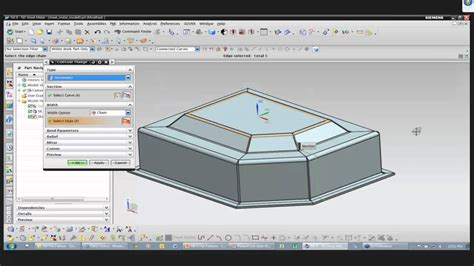 flat pattern drawing nx nx flat pattern one step formability ally plm lunch