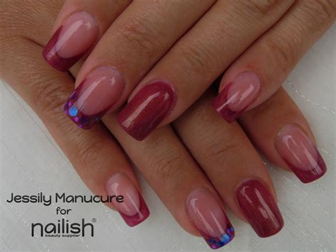 ongles en gel court - Ongle En Gel Court