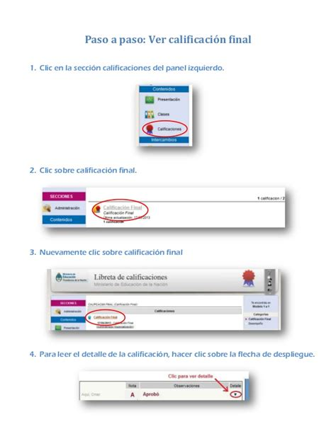 ver calificaciones mini tutorial para ver calificaciones e ducativa