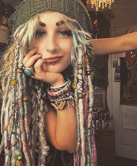 hippie dreadlocks hairstyles 535 best images about dreadlocks and hair wraps on