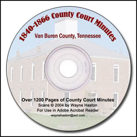 County Tn Court Records White County Tn County Records On Cd