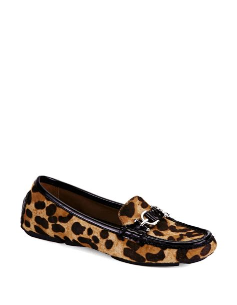 cheetah print loafers donald j pliner viky leopard print loafers in animal