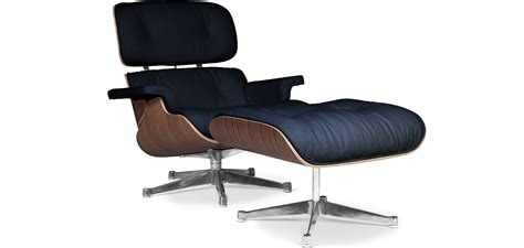 Lounge Chair Ottoman Prix by Lounge Chair Ottoman Charles Eames Cuir Premium Noyer