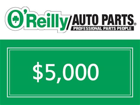 O Reilly Sweepstakes - www oreillycares com win home 500 cash prize from o reilly cares customer