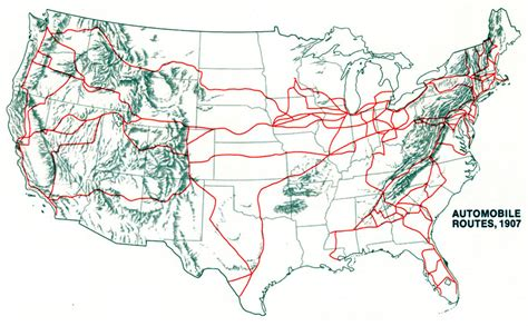 road construction map usa road map of southwest united states