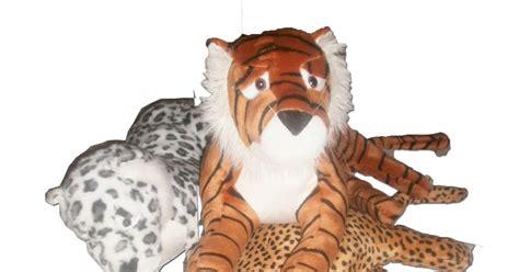 Bantal Mobil 8 In 1 Boneka Panda Totol Hitutih boneka macan singa kode re131 boneka lucu dan murah