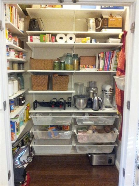 ikea pantry shelving diy pantry inspired by elfa system but was a fraction