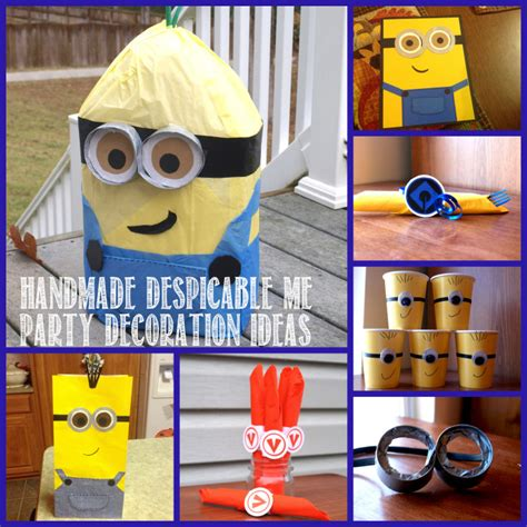 Despicable Me Decorations by Despicable Me Birthday Autry Creations