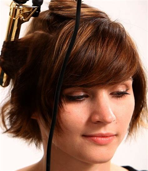 Hair Curling Iron how best to curl hair with heat maple holistics