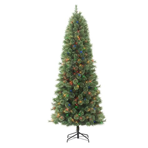 places to get christmas trees near me donner blitzen incorporated 7 5 westchester slim pine pre lit tree with
