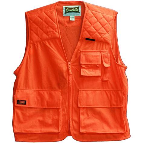 orange vest gamehide 174 sneaker vest blaze orange 425416 blaze orange blaze camo at sportsman