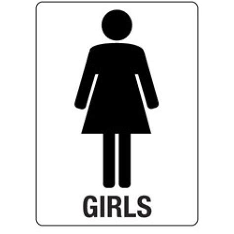 bathroom girl sign girls bathroom sign cliparts co