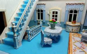 playmobil living room blue mansion emma j s playmobil