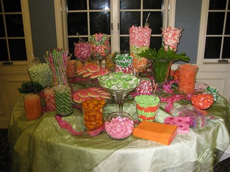 Pink Orange And Green Candy Buffet Flickr Photo Sharing Pink And Green Buffet