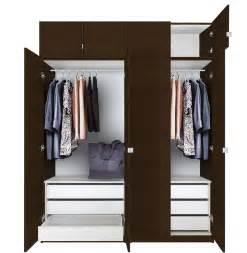 Alta tall wardrobe closet package 6 drawer wardrobe contempo space