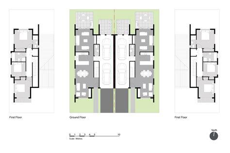 semi attached house plans house plans