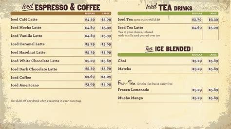 Menu Coffee Bean And Tea Leaf 2 2013 coffee bean menu boards osm solutions