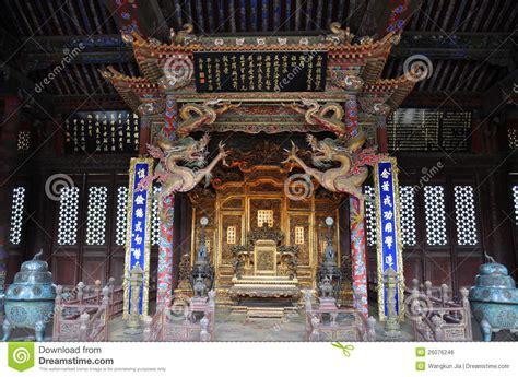 Asian House Plans shenyang imperial palace china royalty free stock image