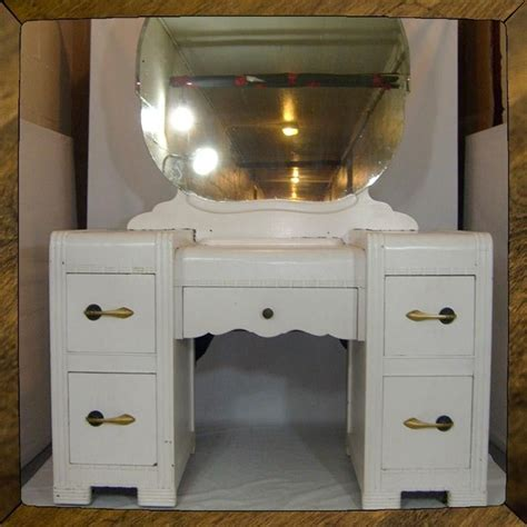 Small Vanity Desk Crafted Deco Vanity Dressing Table Small Desk As Is Or Ready To Refinish Custom