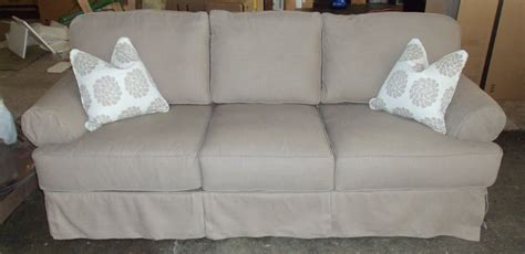 slipcovers for sofas with t cushions separate 3 seat t cushion sofa slipcover infosofa co