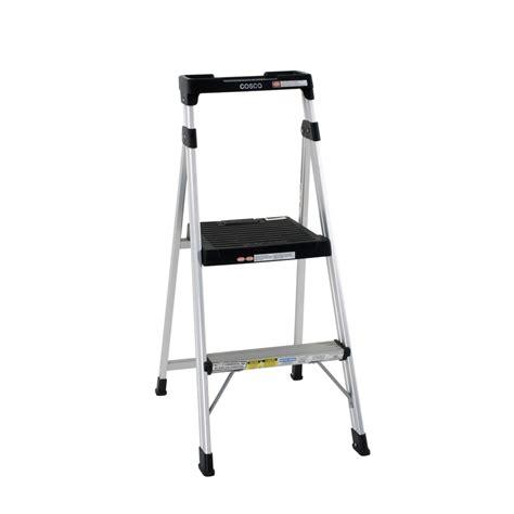one step stool bunnings cosco 100kg 2 step lite aluminium ladder bunnings warehouse