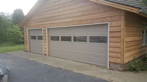 clear garage doors clear glass garage door automatic garage door company