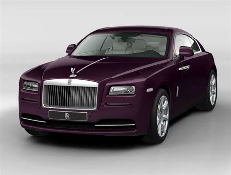 purple rolls royce rolls royce wraith 2015 couleurs colors