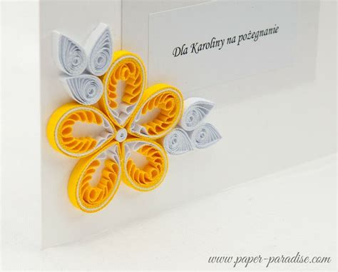 Handmade Farewell Cards - handmade farewell cards quilling quilling