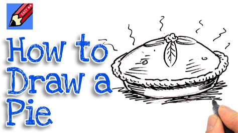 How To Draw A Pie Real Easy For And Beginners